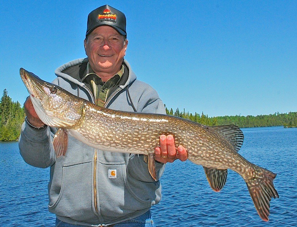Spring Trophy Northern Pike Fishing in Canada Lodges