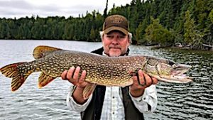 GREAT BIG Northern Pike Fishing by Bill at Fireside Lodge in Canada