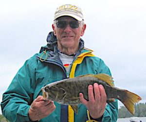 Many Trophy Smallmouth Bass  at Fireside Lodge in Ontario Canada