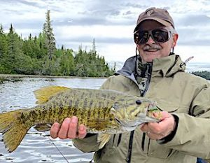 Super Smallmouth Bass Fishing by David in Ontario Canada