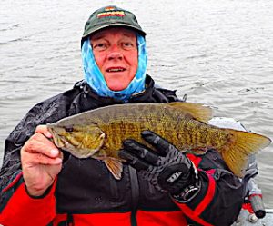 All Weather Trophy Smallmouth Bass Fishing at Fireside Lodge by Ted