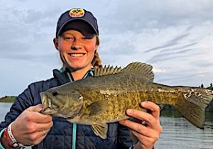 Terrific Smallmouth Bass Fishing at Fireside Lodge in Canada by Erin