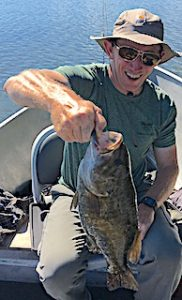 Trophy Smallmouth Bass Fishing by Brad in Canada