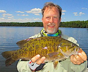 uper BIG Trophy Smallmouth Bass Fishing by Dan at Fireside Lodge in Canada
