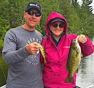 Fun Family Fishing at Fireside Lodge Marcy with Trophy Smallmouth Bass