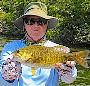 Best Smallmouth Bass Fishing Ever by Mike at Fireside Lodge in Ontario Canada