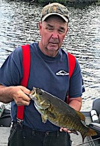 Master Anglers Trophy Smallmouth Bass by Jim in Canada