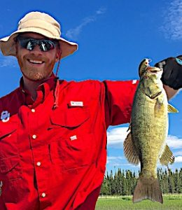 Great Fishing for BIG Smallmouth Bass at Fireside Lodge in Northwest Ontario Canada by Barry