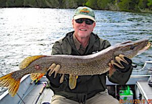 Great Northern Pike Fishing in Canada by Jerry at Fireside Lodge