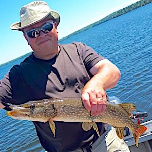 Catching over 75 Northern Pike at Fireside Lodge in Ontario Canada by Tim