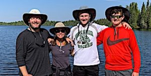 Lagerblade Traditional Family Fishing Trip Fireside Fishing Lodge Dock in Canada