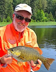 Another Very Large Smallmouth Bass by Ken Fishing at Fireside Lodge in CanadaAnother Very Large Smallmouth Bass by Ken Fishing at Fireside Lodge in Canada