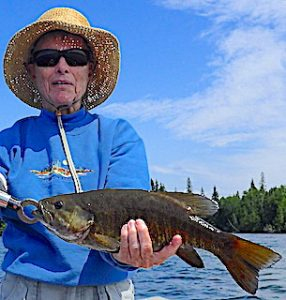 Super Trophy Catch Fishing by Ollie at Fireside Lodge in Northwest Ontario Canada