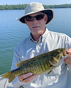 So Many Big Smallmouth Bass So Little Time Fishing by West at Fireside Lodge in Ontario Canada