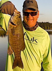 Unreal Trophy Smallmouth Bass Fishing at Fireside Lodge in Canada by Craig