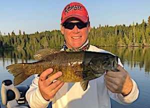 Impressive Trophy Smallmouth Bass Lake Fishing at Fireside Lodge in Canada by Jeff
