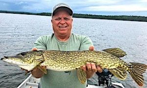 Great Fishing With My Brothers at Fireside Lodge in Northwest Ontario Canada by Butch