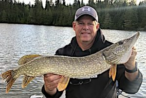 Amazing Fishing for BIG Northern Pike at Fireside Lodge in Ontario Canada by Tom