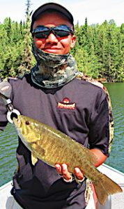 Great Smallmouth Bass Fishing in Canada by Keeghan