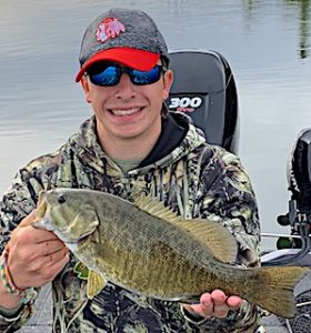 Fishing BIG Smallmouth Bass are GREAT by Tyler in Ontario Canada