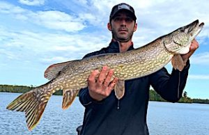 Terrific Northern Pike Fishing at Fireside Lodge in Canada by Pete