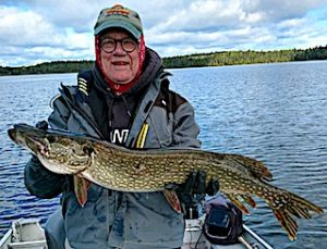 Lots of BIG Northern Pike Fishing at Fireside Lodge in Canada by Paul