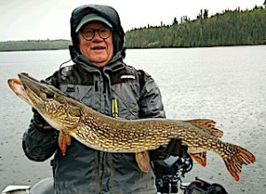 GREAT Fall Fishing for BIG Northern Pike at Fireside Lodge in Northwest Ontario Canada by Paul