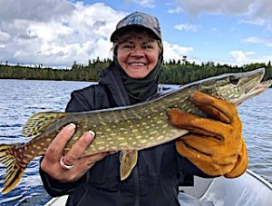 GREAT Family Fun Fishing Northern Pike at Fireside Lodge in Canada by Stephanie
