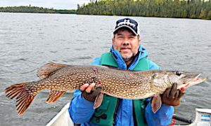 BIG Fall Northern Pike Fishing by Doug at Fireside Lodge in Ontario Canada